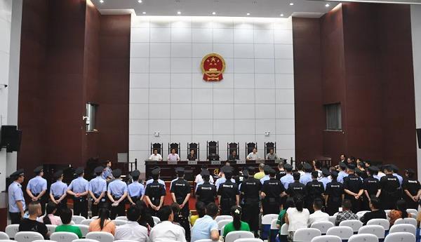 大快人心!天長首例涉黑案件一審宣判,16人被判刑 作者: 來源:天長市人民檢察院