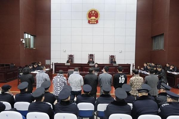 歷時7小時,天長法院召開9人涉黑案件庭前會議